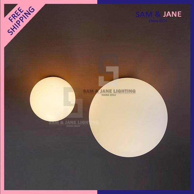 25 CM moderne murale int rieure LED applique murale lampe de mur de boule de verre.jpg 640x640 5 Unique Applique Murale Boule Verre Ojr7