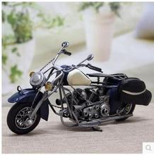 Фигурки рисунок творческий Европейский стиль кованого железа мотоцикл модели украшение домочадца подарок меблировки статей