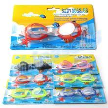 20pcs kid swimming goggles child anti-fog waterproof eyewear