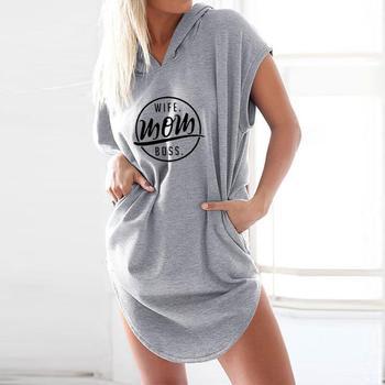 Wife Mom BossT-Shirt for Women