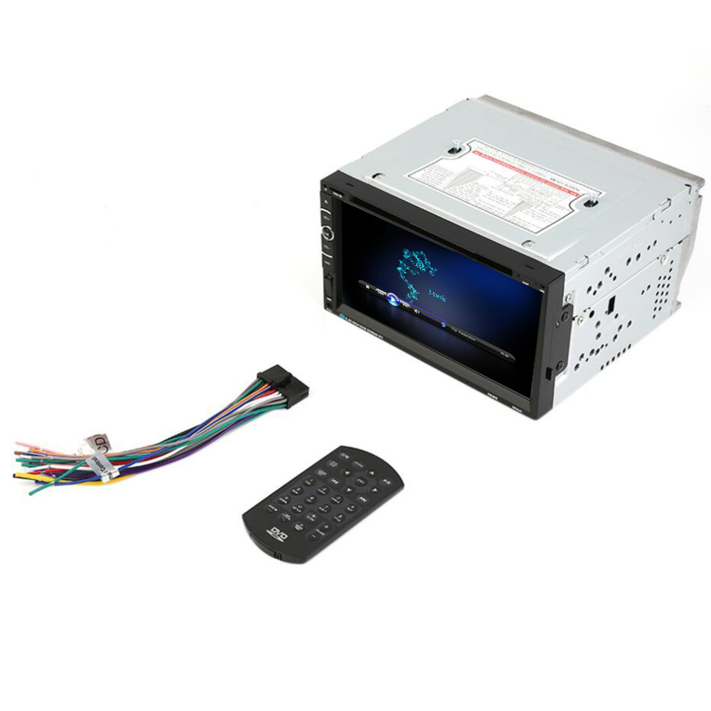 2 Din Car Radio Headunit 7'' Touch Screen Navigation Car Stereo Electronics MP3 DVD Player Bluetooth for iPod
