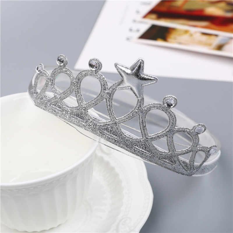 เด็กใหม่เข็มขัดได้อย่างรวดเร็วขายเด็กเครื่องประดับ Crown Headwear โรงงานขายส่งเด็กสาว Hairclips