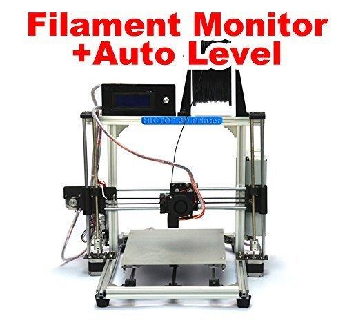 HICTOP Filament Monitor Design Auto Leveling Desktop DIY 3D Printer Prusa I3 Kit,  Printing Size 10.6
