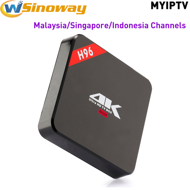 US $48 48 |Android 6 0 RK3229 with MYIPTV IPTV account support Malaysia  Singapore Indonesia Channels hot selling for Southeast Asia-in Set-top  Boxes