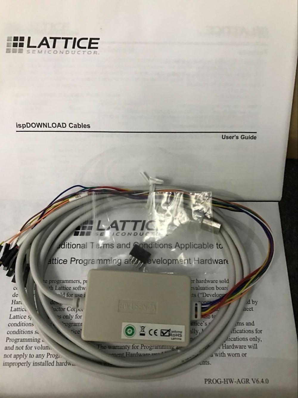 LATTICE Simulator Downloader HW-USBN-2A USB Download Line Programmer Ispdownload Cable