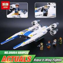 New 679pcs Lepin 05054 Genuine Star War Series The Rebel U Wing Fighter Set Building Blocks
