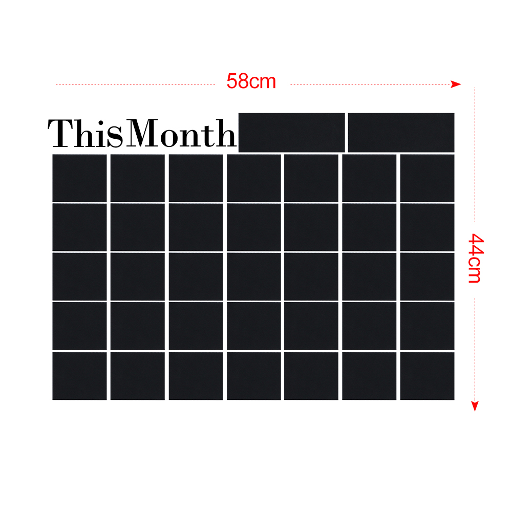 Wall Mounting Month Planner 5