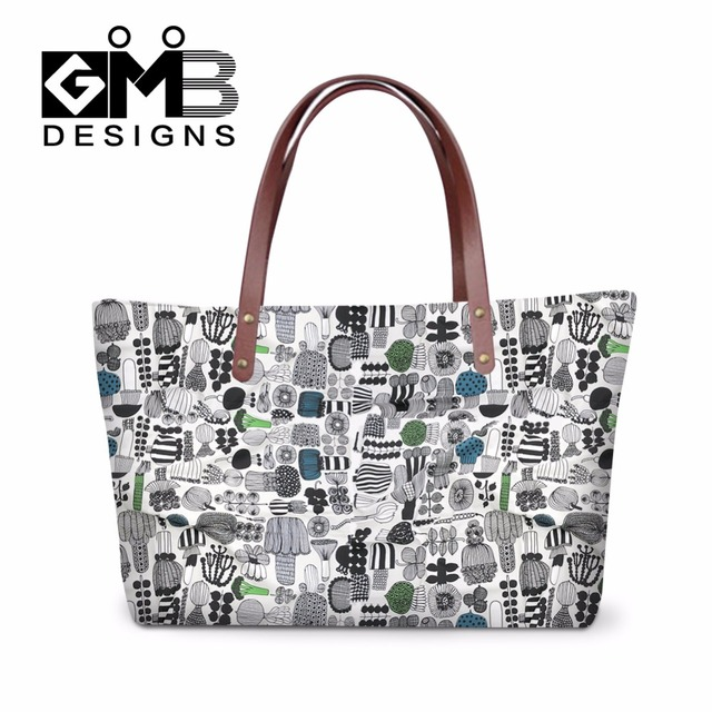 6bd7d78e944 Womens Large Tote Bags,One Shoulder Bags,Stylish Flower Patterns Hand bag  for Girls
