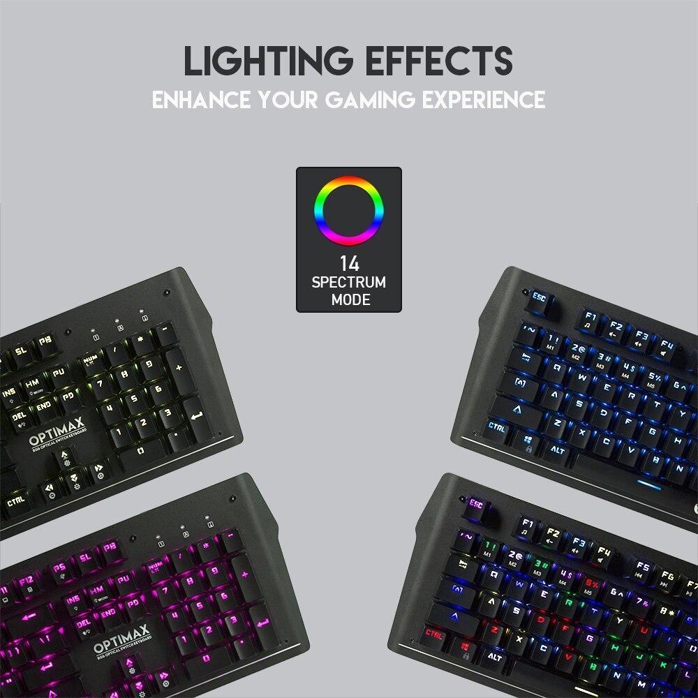 Fantech MK885 Optimax Full Size Edition RGB Mechanical Keyboard 9