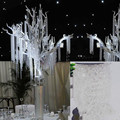 30M/roll New Acrylic Crystal Bead Garland Diamond Strand Wedding Tree Decor Wedding party decoration GYH