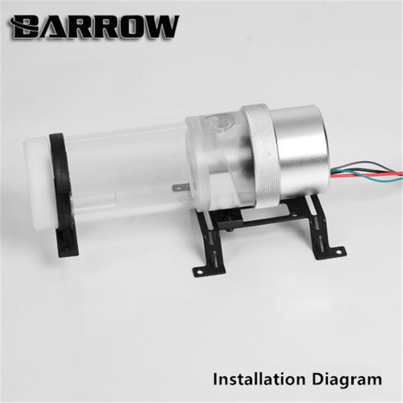 Barrow D5 Pump Top Circular Shape Clear