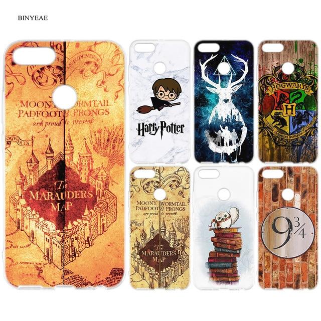 81e6ecf92da6c BINYEAE Harry Potter Slytherin Hogwarts School Cartoon Silicone Case Cover  for Xiaomi A1 A2 8 SE Redmi Note 4X 5 6 5A 6A S2 Pro