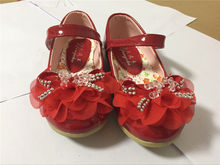Summer Children's Sandals Bow Flowers Diamond Decoration Girls Sandals Slippers(China)