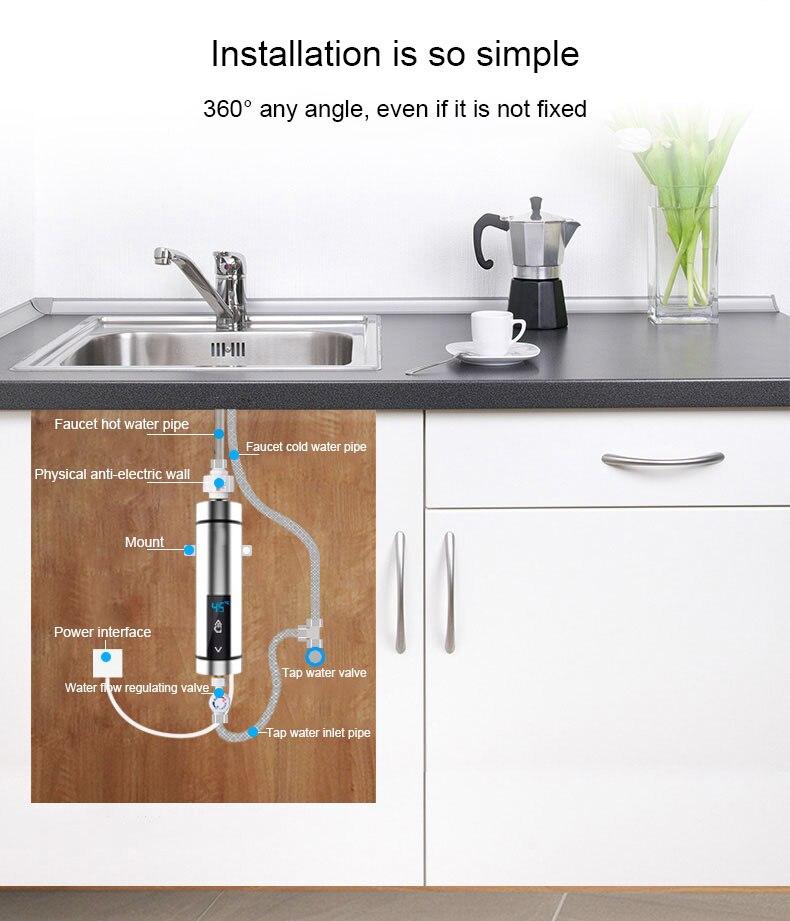 Casa de Banho Máquina de Aquecimento de Água Quente