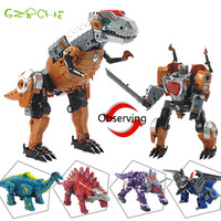 Transformatie dinosaurus Robots Transformable Speelgoed voor kinderen & jongens & Kids Action Figuur dinosaurus Speelgoed Model