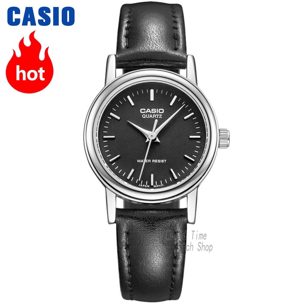Часы Casio Analogue Женские кварцевые часы с минималистским водонепроницаемым указателем LTP-1095