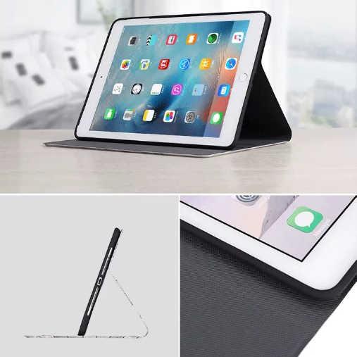 Funda suave con tapa de patrón de mármol para iPad 2/3/4 Air Air2 mini Tablet funda estándar para el nuevo iPad 9,7 De 2017 Auto despertar/dormir