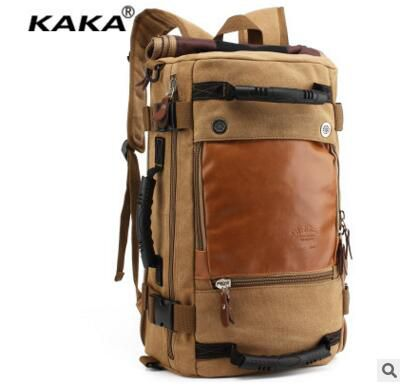 Brand KAKA Large Men Travel Backpack Notebook Rucksack Backpack Travek bag laptopTravel Rucksacks Laptop Backpacks Shoulder Bags new new fashion french manicure 3d nail art diy stickers tips decal nail decoration bcdi