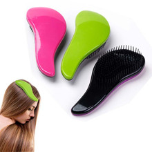 Hot Sale 6 Colors Professional Exquisite Anti-static Hair Brush Comb Large Size Magic Female Salon Styling Detangling