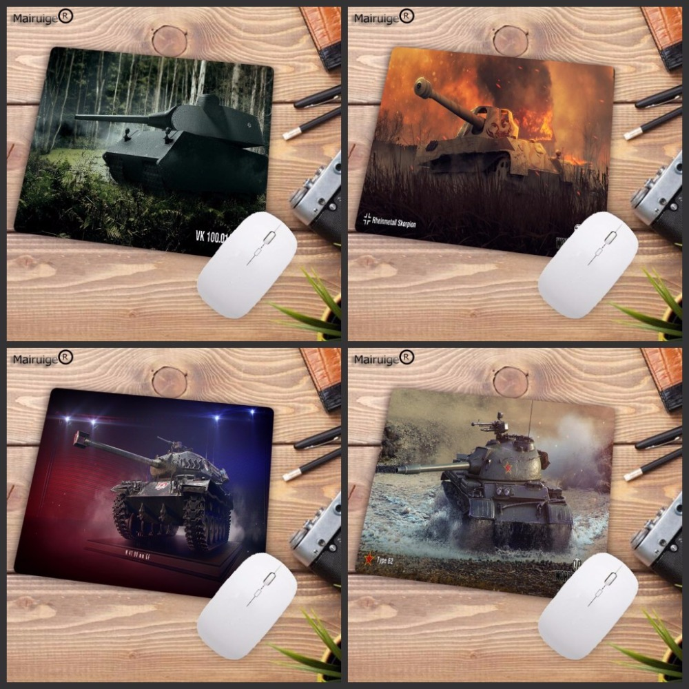 Mairuige Hot Gaming Rubber Mouse Pad Notbook Computer Optical NO Lock  Edge Mousepad Gamer World Of Tanks Speed Mice Play Mat