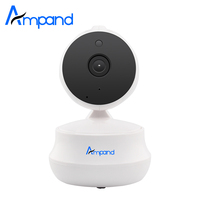 Ampand Cloud Storage 720P HD Wireless Security Web Camera Night Vision Video Recording Indoor Baby Monitor