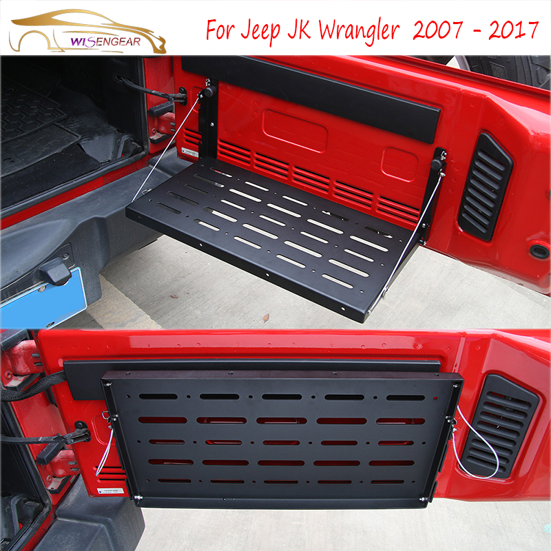 Wisengear Rear Interior Door Cargo Shelf Storage Luggage
