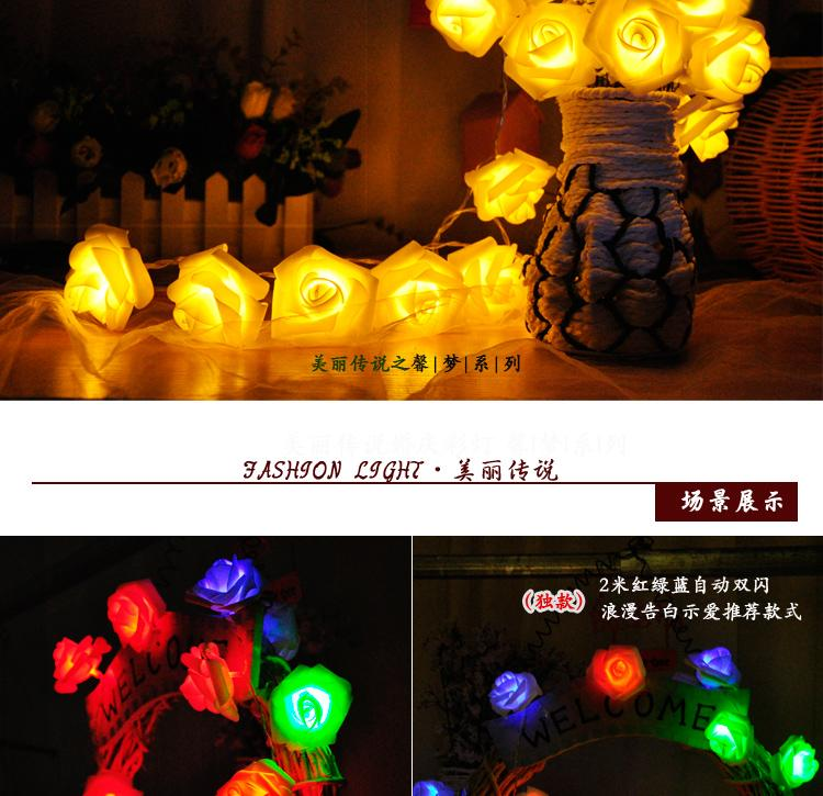 Battery Operated Fairy Lights Guirlande Lumineuse Led 10m 80