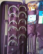 Sewing Tools & Accessory Knitting tools knitting needles set of gadgets 33 pairs / set  611 set of tools kraton ts 15