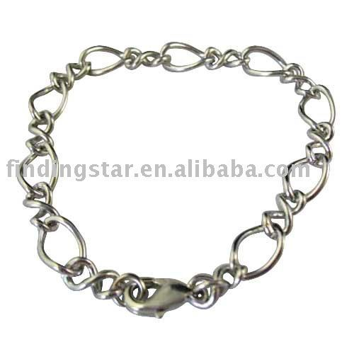 50pcs Lobster clasp bracelets FREE SHIPPING M18934