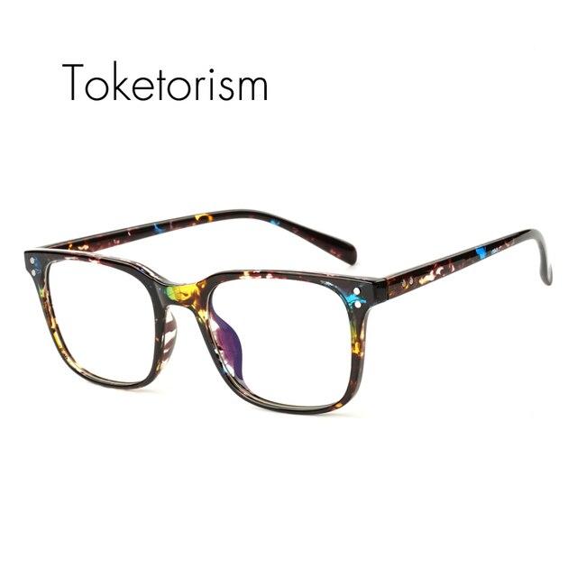 Toketorism lightweight spectacle frames tr90 glasses hipster eyewear ...