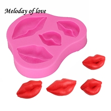 Sexy Lips Silicone Mold Fondant Mould Cake Decorating Tools Chocolate Gumpaste Molds, Sugarcraft, Kitchen Gadgets T1226
