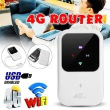 4 г LTE Wi-Fi Беспроводной маршрутизатор доступа светодиодный свет поддерживает 10 пользователей Портативный маршрутизатор модем для автомобиля домашней мобильной путешествия Отдых