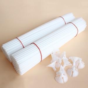 Image 4 - 20/40/60Pcs 30cm White PVC Balloons Holder Sticks with Clip Latex Balloon Stick Birthday Wedding Party Supplies Kids Party Decor