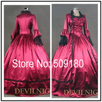 2014 New Elegant Satin High Neck Long Sleeve Customized Floor Length Evening Gown Design PX71128 Baju