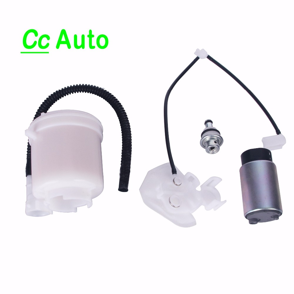 For Toyota Corolla Tacoma Matrix 1.8L 2.7L 4.0L 2005-2011 E3000-174819-ND 950-0203 Fuel pump+Filter+Fuel Pressure Regulator