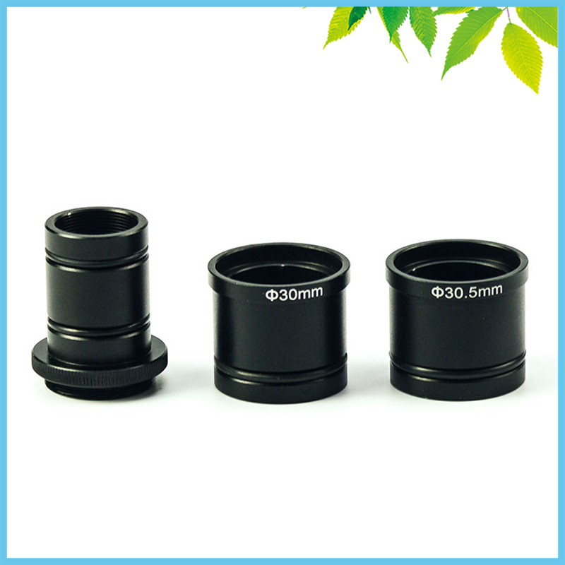 Microscope Standard C-Mount Adapter Digital CCD Camera Adapter C Port To 23.2mm 30mm 30.5mm Adapter Ring