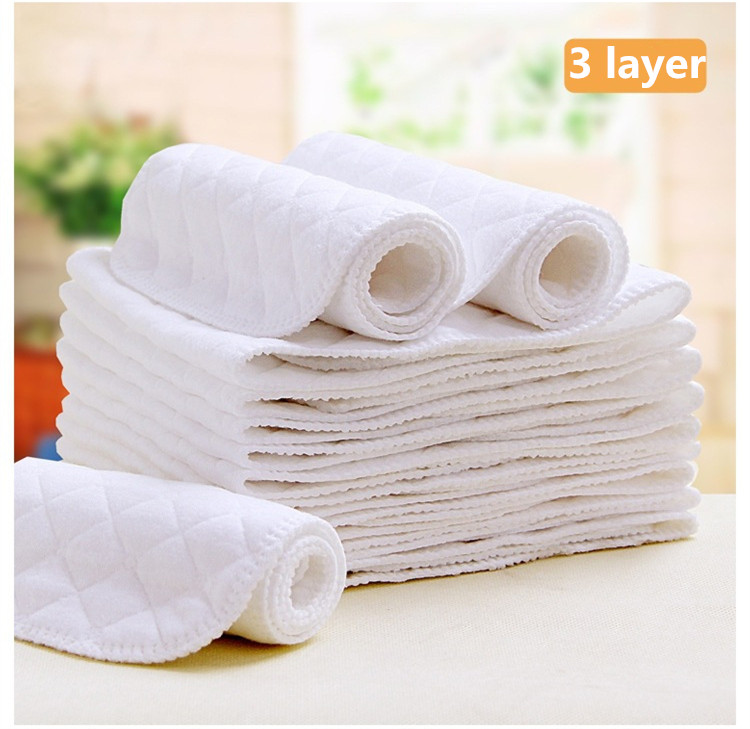 10pcs pack Baby Care Products Reusable baby Diapers Cloth