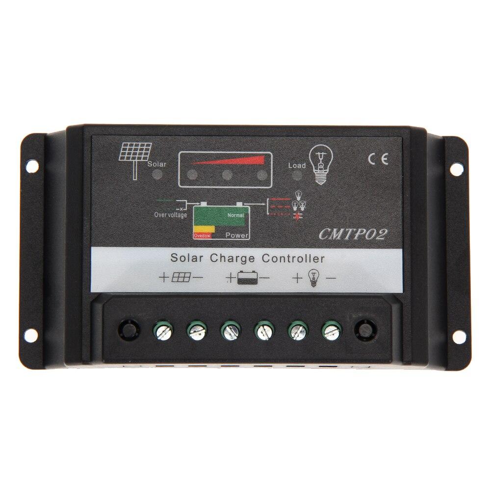 5A 15A 20A 12V/24V MPPT Solar Panel Battery Regulator PWM Charge Controller LED Screen MFBS 1pcs intelligent pwm 20a 12v 24v solar panel charge adapter regulator controller for solar power control