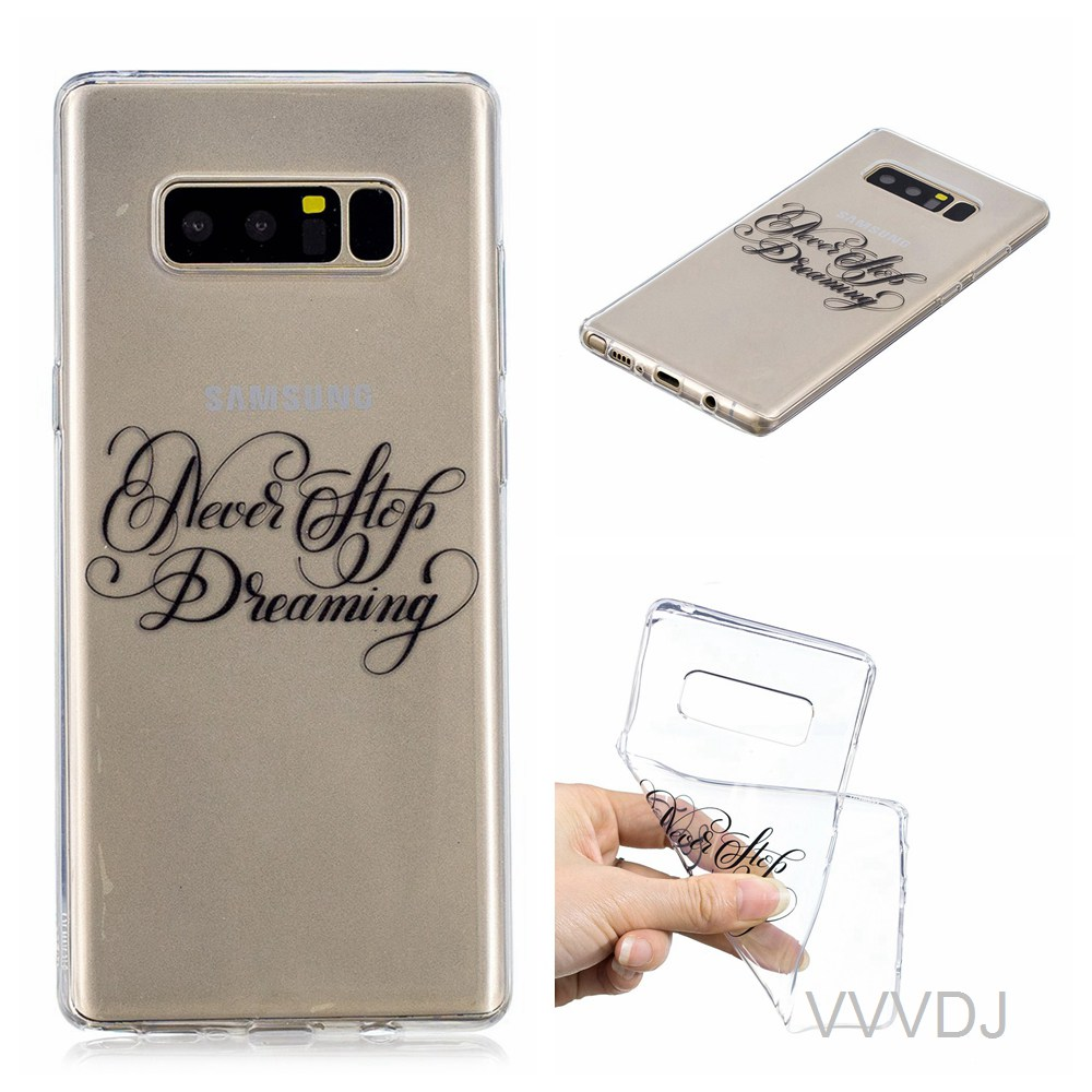 US $2 66 11% OFF|for Samsung Galaxy Note8 Note 8 SM N950F/DS N950F/DS SM  N950FD N950F back cover for samsung galaxy Note 8 N8 case silicone cover-in