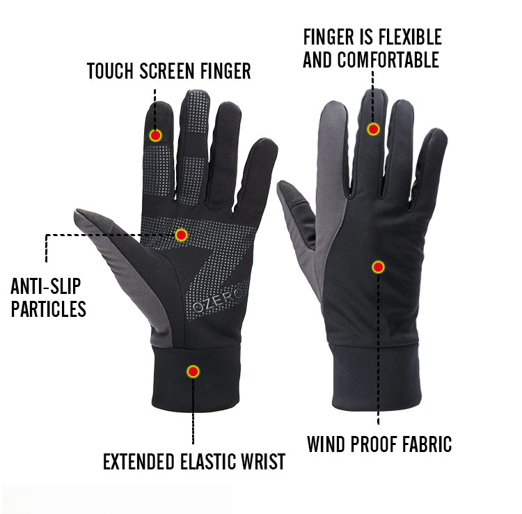 Brand Touch Screen Gloves Winter Outdoor Warm Windproof Waterproof Below Zero Work Driver Gloves For Men Women 9010