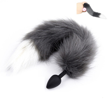 4d67216cf Fox Tail Butt Plug - Juno Anal Plugs