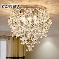 Modern K9 Crystal Chandelier Lighting For Dining Room Kitchen Living Room Bedroom Ceiling Led Luxury Rural