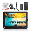 """BESTVIEW S7 4K 7"""" inch Camera HDMI HD DSLR LCD Monitor 1920*1200 with Battery Kit + Magic Arm for Nikon Canon 5D Mark III IV 6D"""