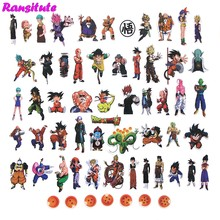 56 Pcs/set Hot Tujuh Dragon Ball Tahan Air Ponsel Label Stationery Stiker Scrapbook DIY Diary Stiker Album(China)
