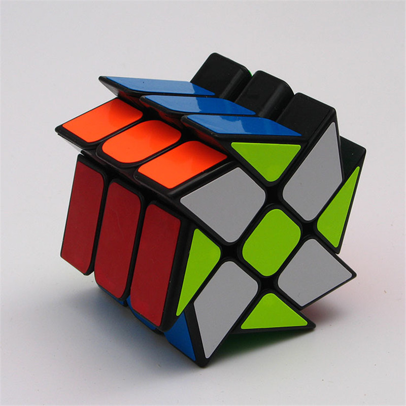 Купить с кэшбэком Magic Cube 2x2x3 Profiled Classic Speed Magic Puzzle Cube Hot Wheel Square King Cube Cubos Magicos Learning Kids Toys