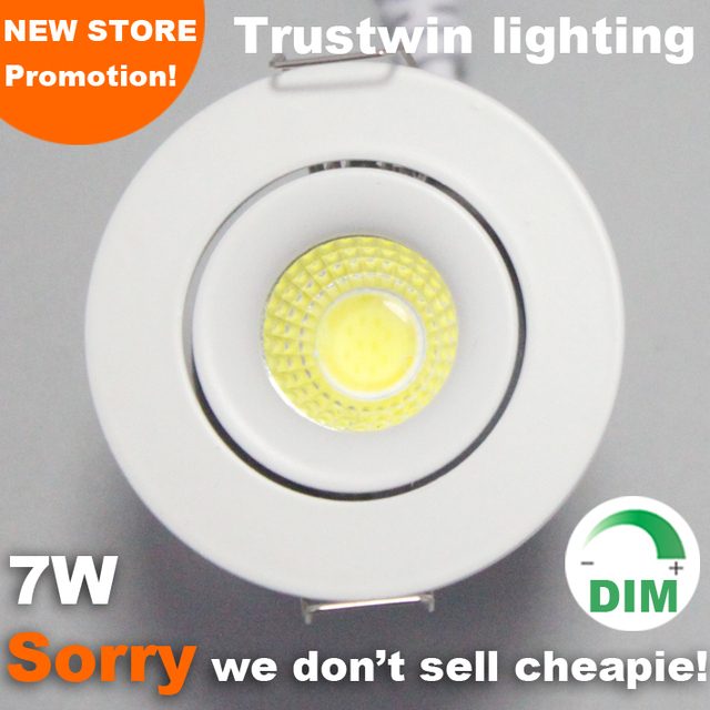 3 years warranty indoor outdoor ceiling dimming spot light 7W LED
