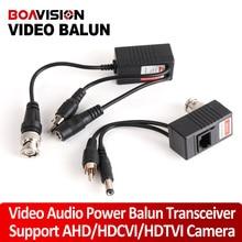 CCTV Camera Transceiver BNC UTP RJ45 Video Balun Video, Power Over CAT5/5E/6 Cable For HDCVI/HDTVI/AHD 720P Camera Up To 300m