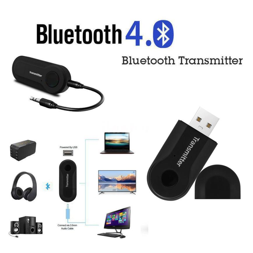 HIPERDEAL USB Wireless Trasmettitore Stereo Audio Adapter Music For TV Telefono BT4.0 PC Y1X2 18Jun21 Drop Ship F