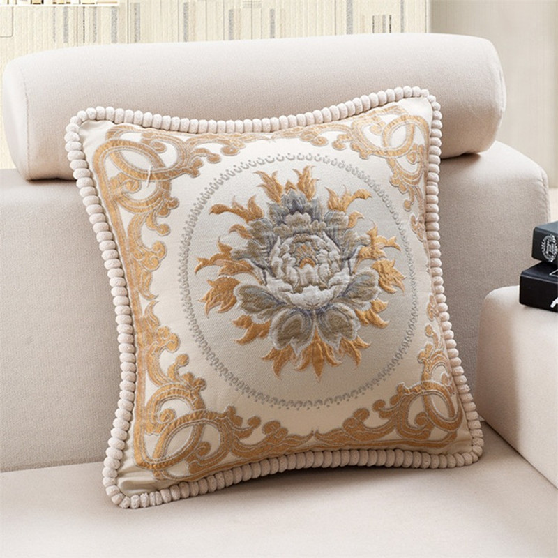 How To Cover A Sofa Cushion North Carolina British Royal Custom Large 50*50cm Cotton Relief ...