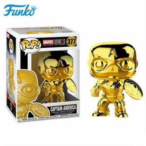 Image 4 - Offical FUNKO POP Marvel The 10th Anniversary Black Panther Iron Man Loki Groot Vinyl Doll Action & Figure Toy Birthday Gift